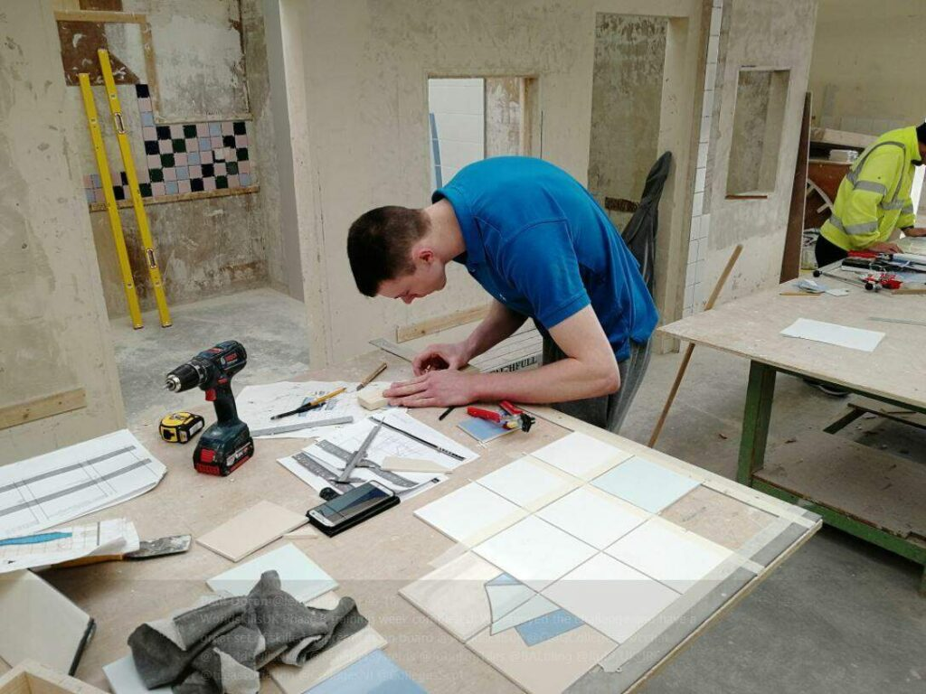 Apprentice on the WorldSkills UK Phase 3 training
