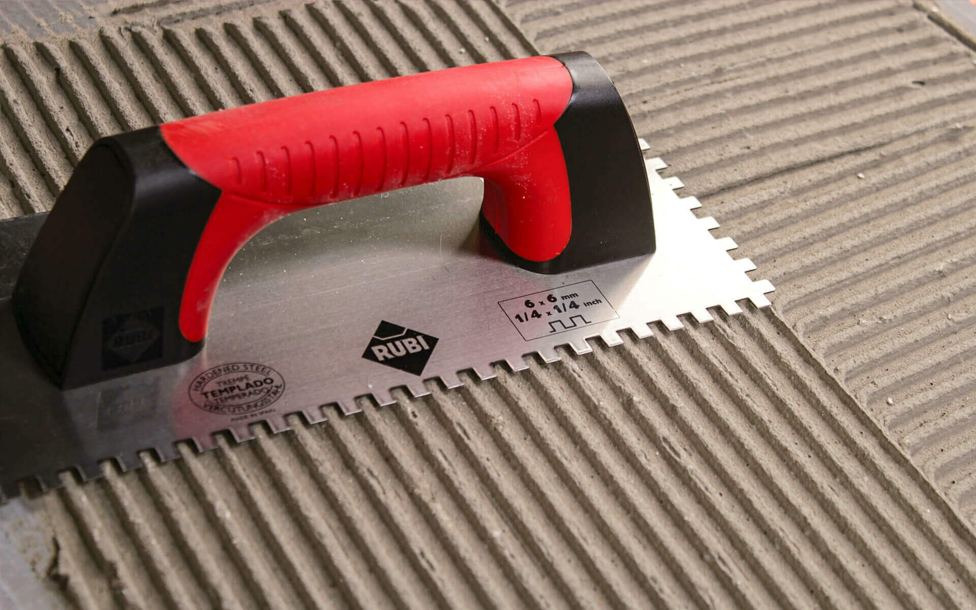 Hot to choose the right tile trowel size