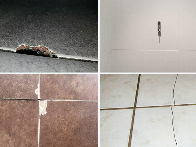 The most common mistakes in the placement of ceramic tiles