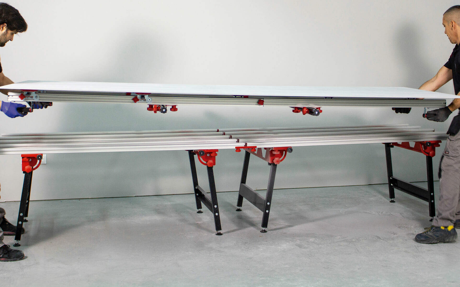 The SLAB SYSTEM range