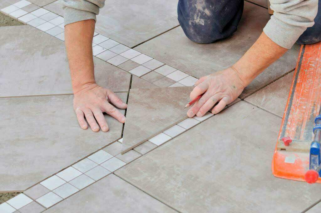 how to cut porcelain tile