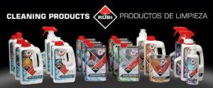 Nuevos productos de limpieza Rubi