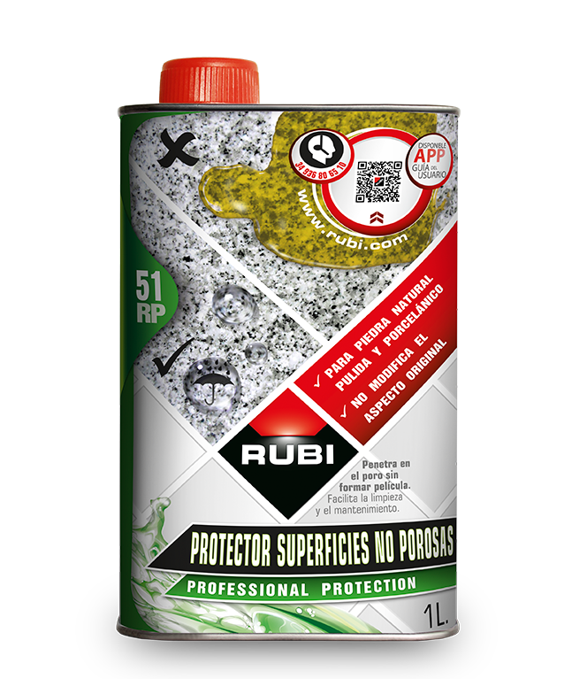 RP - 51 Protejer azulejos y superficies no porosas