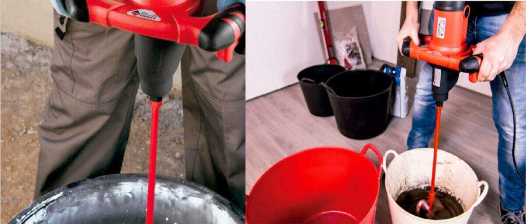 como preparar mezcla para pegar ceramica