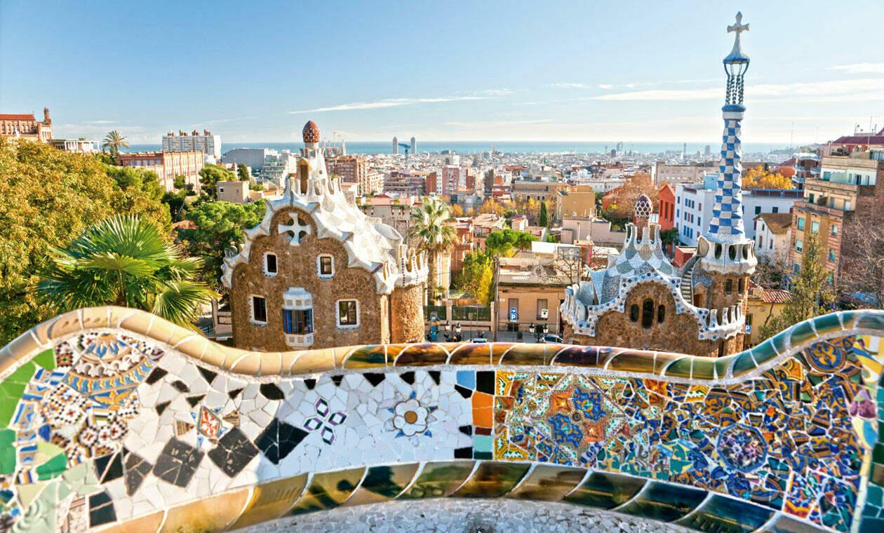 trencadís estilo Gaudí