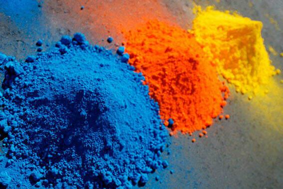 cemento de color