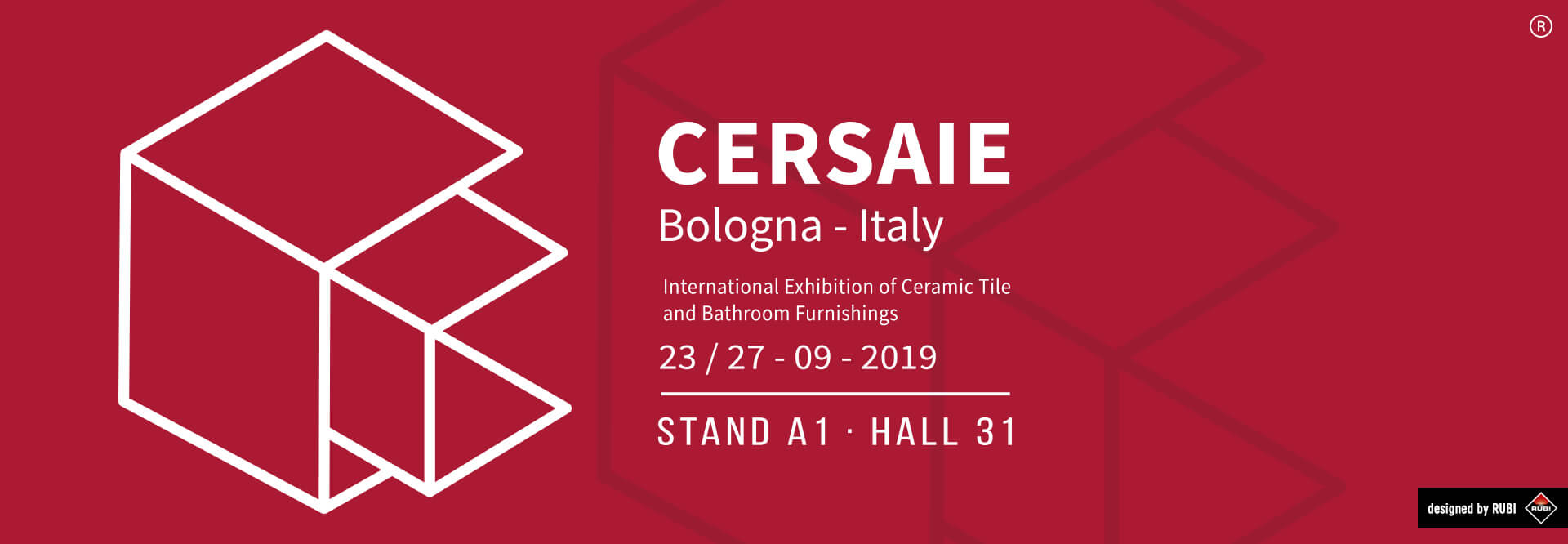 RUBI 2020 NEW PRODUCTS AT THE CERSAIE TRADE FAIR