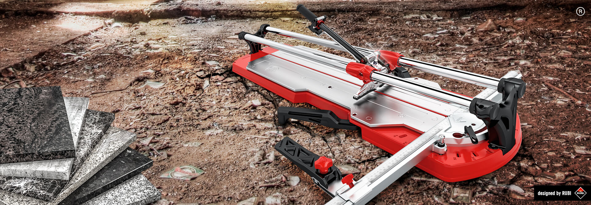 NEW RUBI TX MAX TILE CUTTER