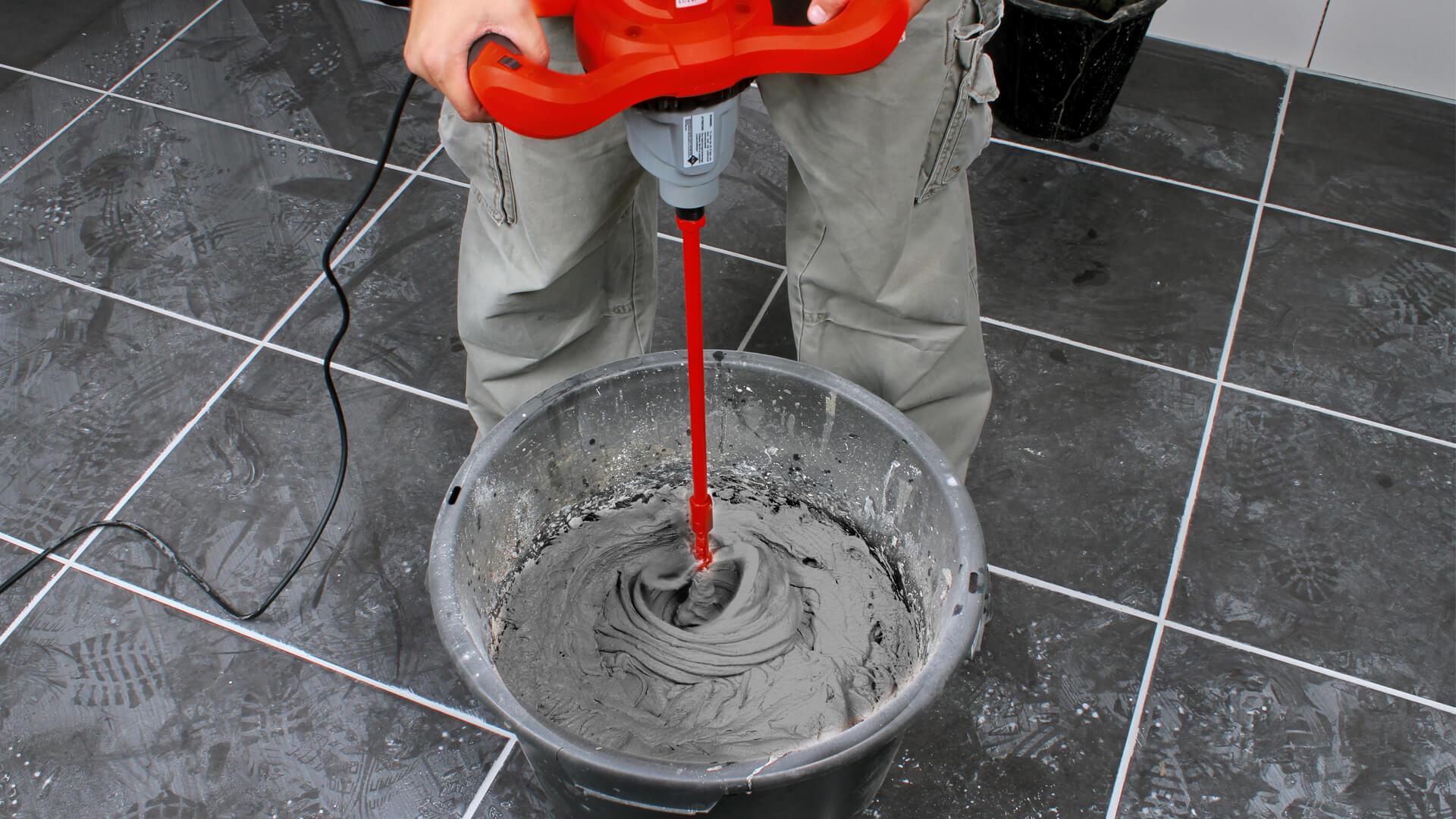 Mescolatori colla cemento rubi tools italia