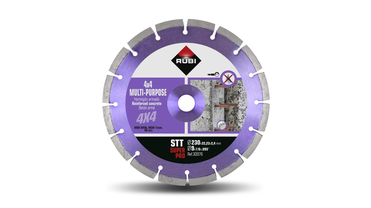 The MULTIPURPOSE SEGMENTED - STT diamond blade
