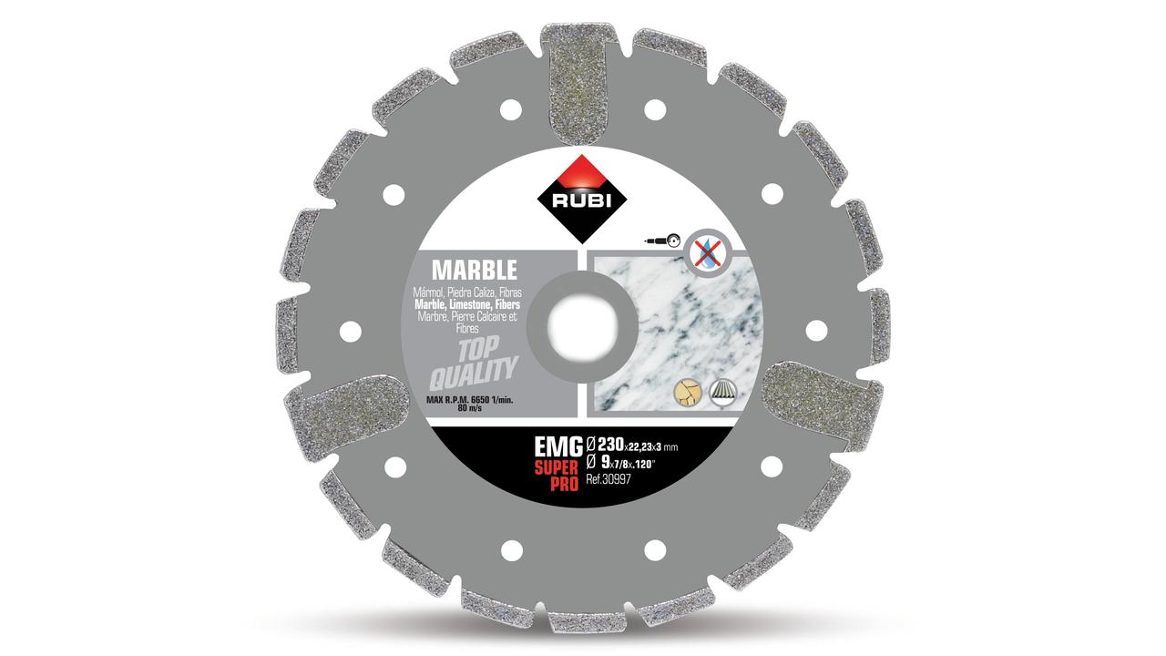 ELECTROPLATED - EMG marble diamond blade
