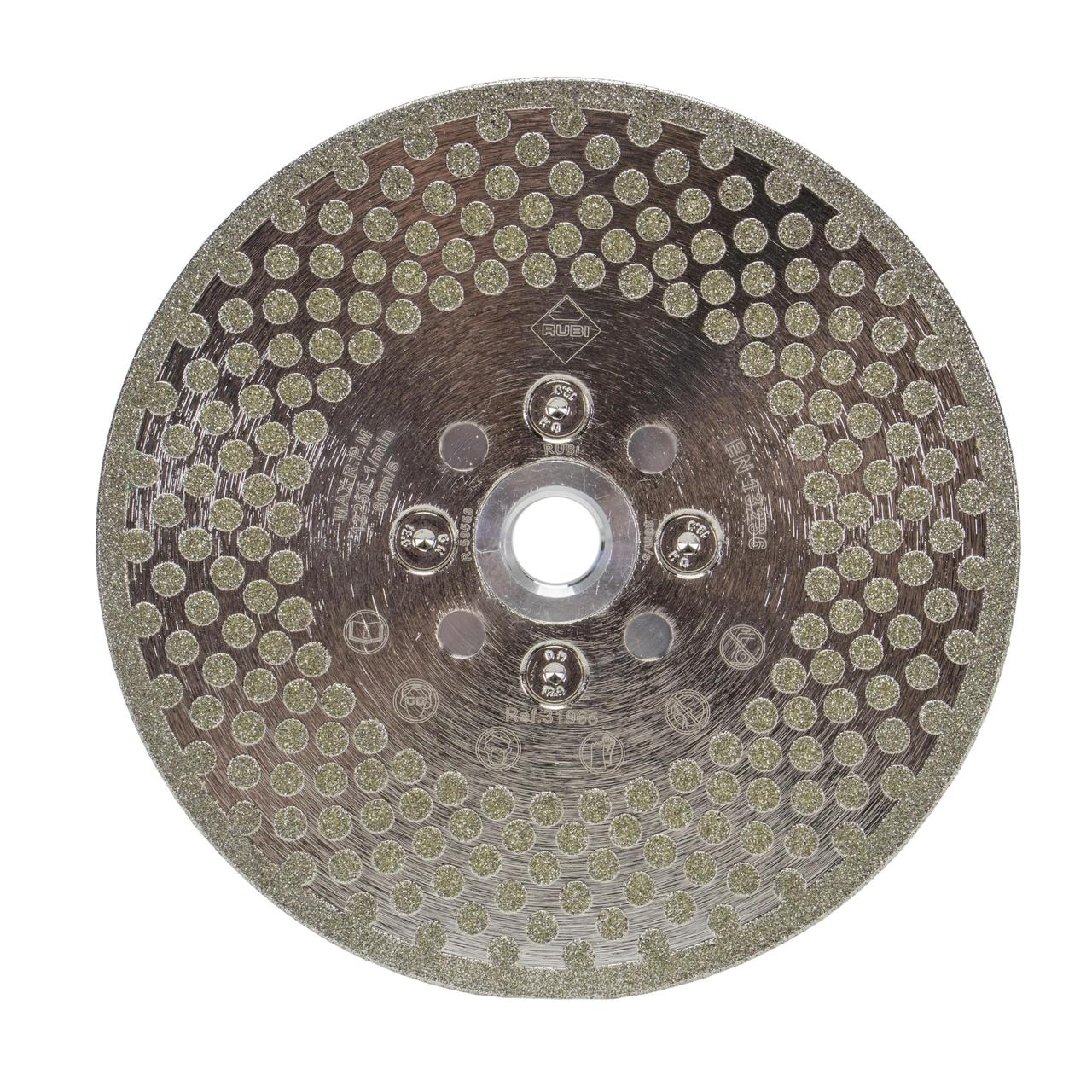 Diamond blades for cutting and grinding