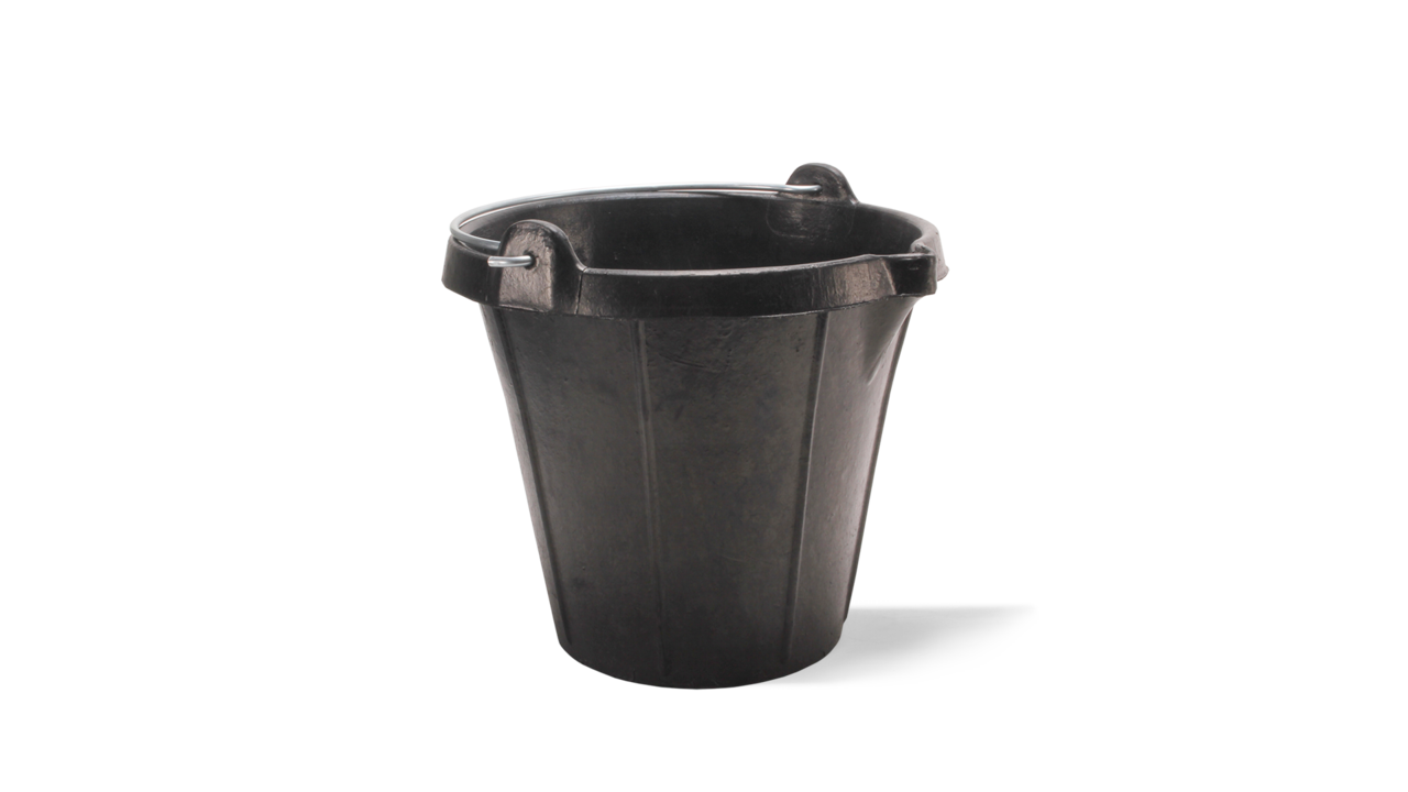 LIGHTBUCK plastic bucket with graduation and spout (15l)