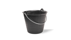 LIGHTBUCK plastic bucket with graduation (12l)