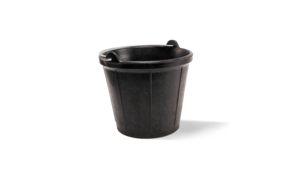 RUBBERBUCK industrial rubber bucket No. 52 (3.2 Gal.)