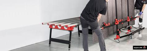 RUBI launches the SLAB TABLE and SLAB TROLLEY
