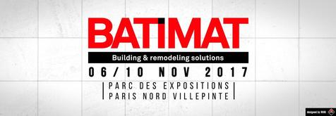 RUBI will present the innovations for 2018 in BATIMAT