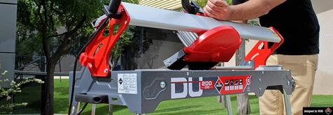 The evolution of tile saws: DU-200 EVO