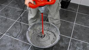 Glue mortar mixer