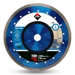 Zaagbladen zijn onmisbare gereedschappen voor de tegelzetter. De TVH met Viper motief zaagt snel en heeft een mooie afwerking.