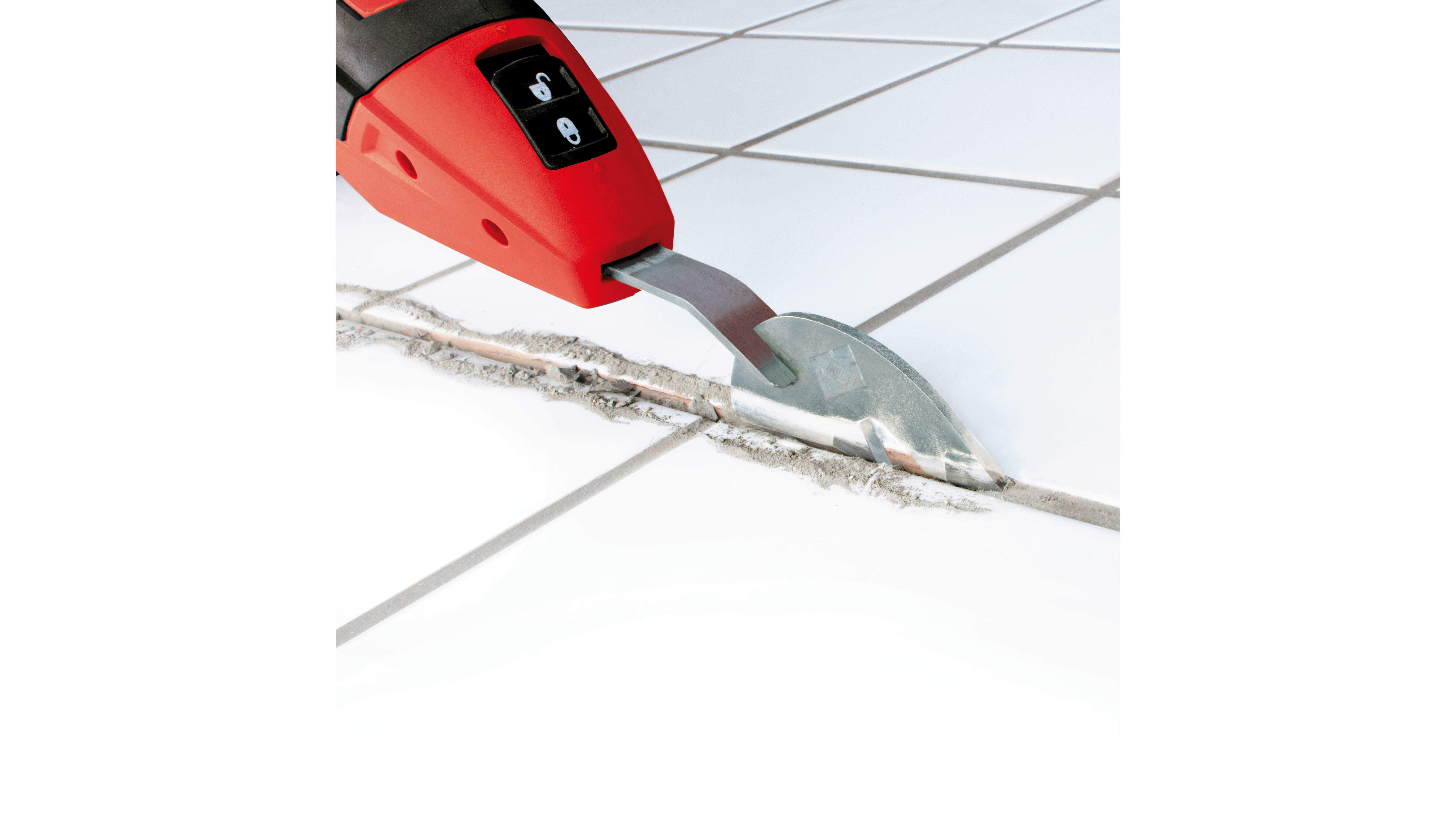 Een handig gereedschap zoals de RUBISCRAPER zorgt dat je snel van je lijmresten af bent.
