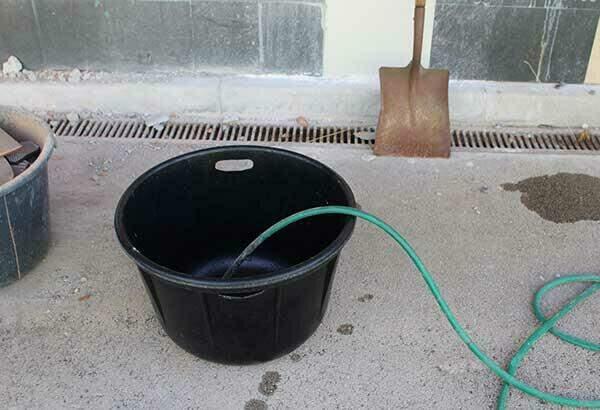 Door de afgeronde hoeken zijn de kuipen gemakkelijk schoon te maken.