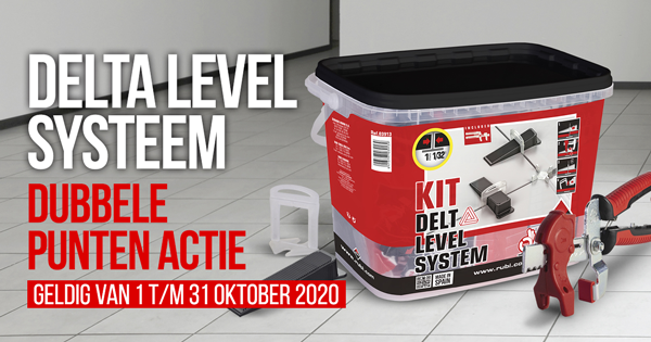 Delta Level Systeem Promotie Dubbele Punten Oktober 2020