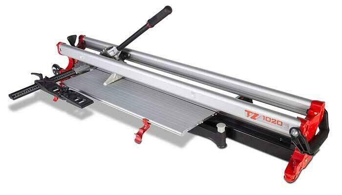 DE TZ tegelsnijder voor het snijden van dikkere tegels tot 2 cm.