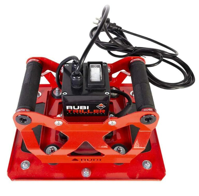 Het nieuwste gereedschap voor grootformaat, de RUBI TRILLER, is mede door RUBI Benelux ontwikkeld.