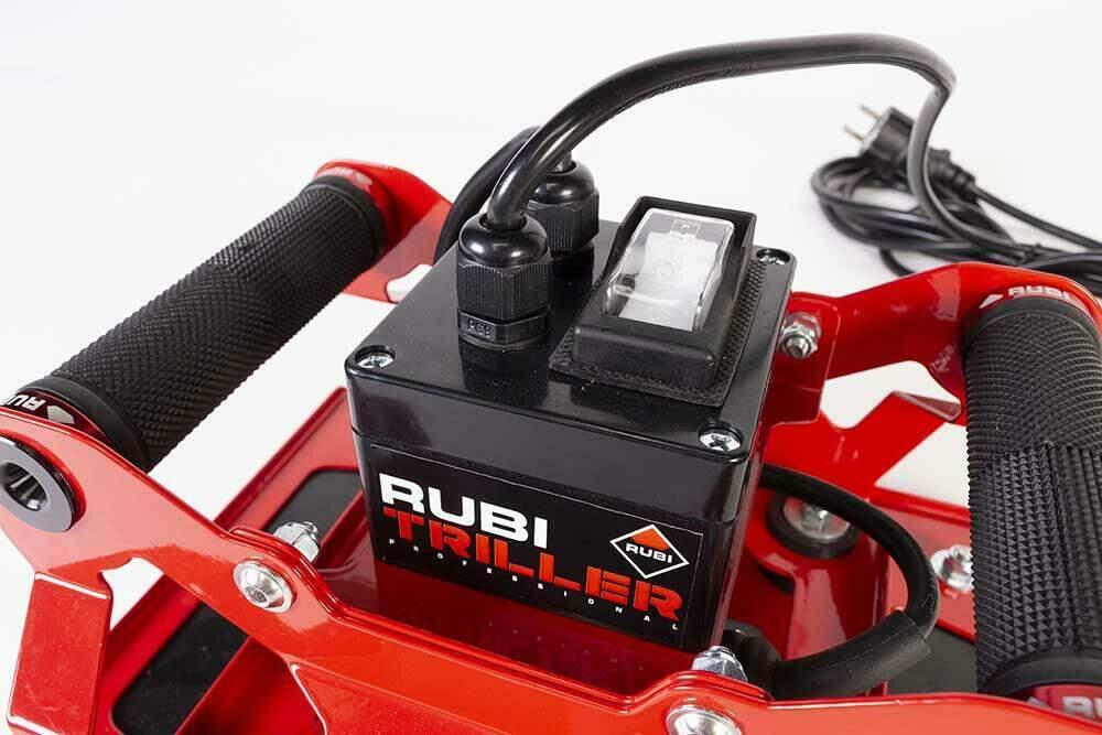 De RUBI TRILLER heeft trillingsgedempte, ergonomische handgrepen