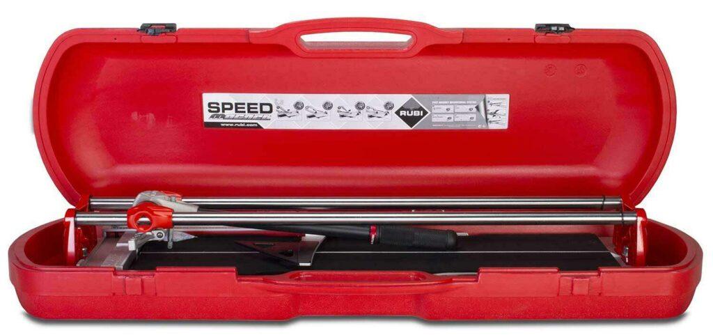 De SPEED-MAGNET kan opgeborgen worden in de RUBI koffer.