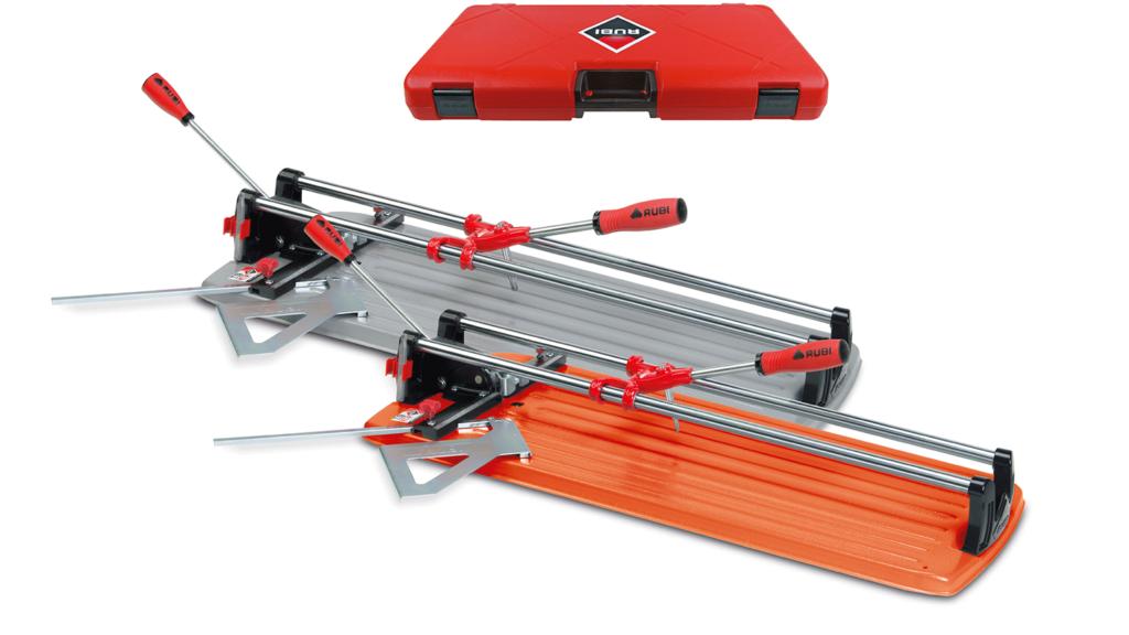 De TS-MAX is beschikbaar in 2 uitvoeringen: met een grijze en een oranje bodemplaat.