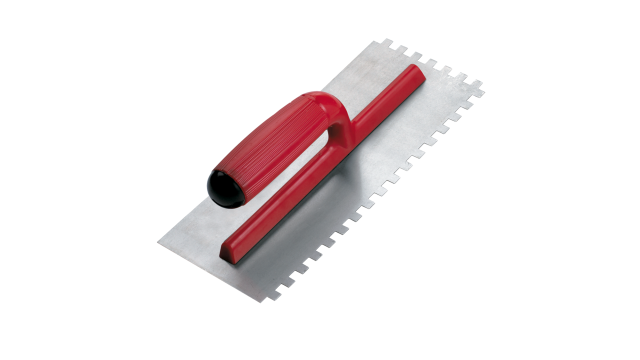 Open bicolour plastic handle