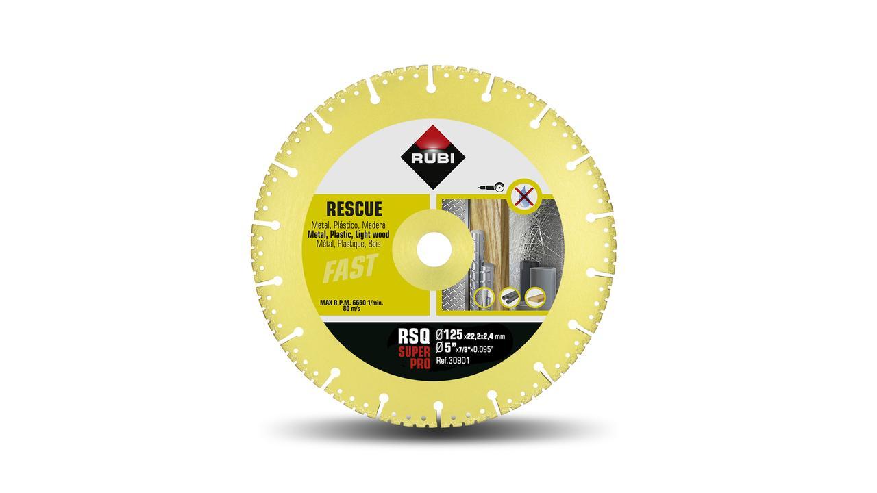 RESCUE VACUUM BRAZED - RSQ diamond blade | RUBI Tools UK
