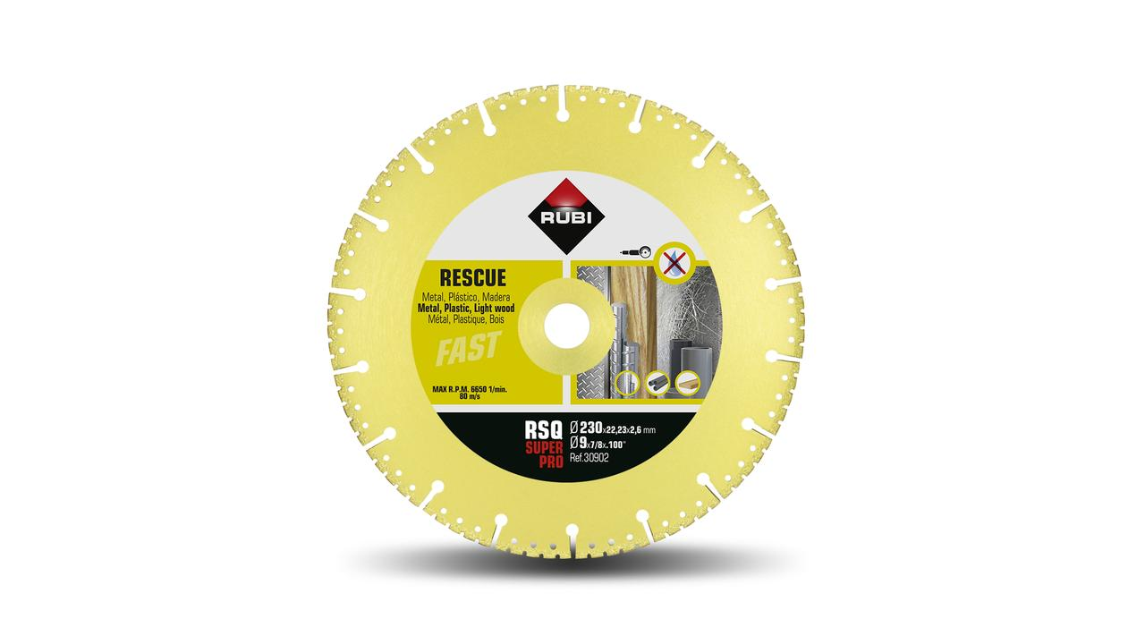 Dry cutting diamond blades