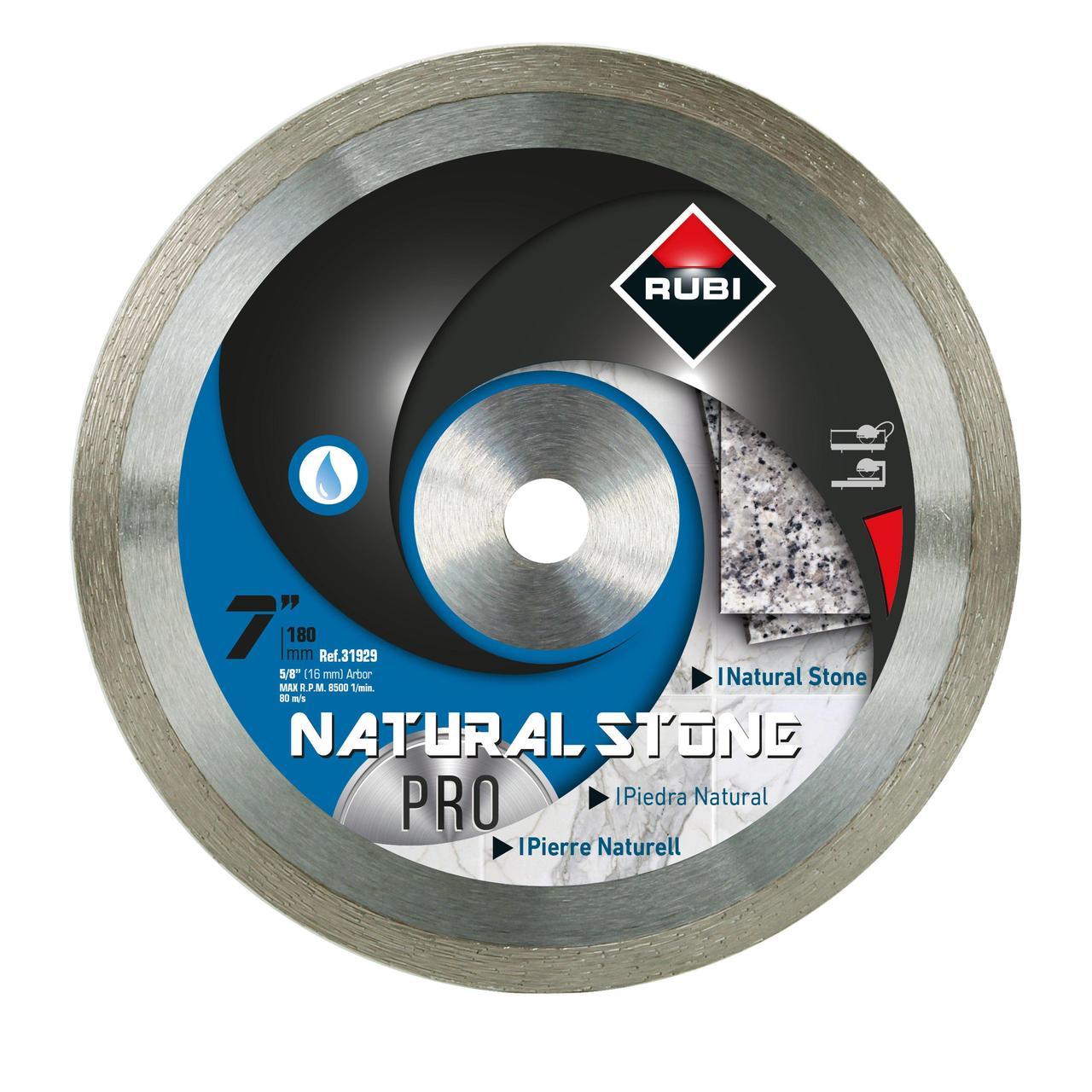 Natural Stone Diamond Blade Rubi Tools Usa