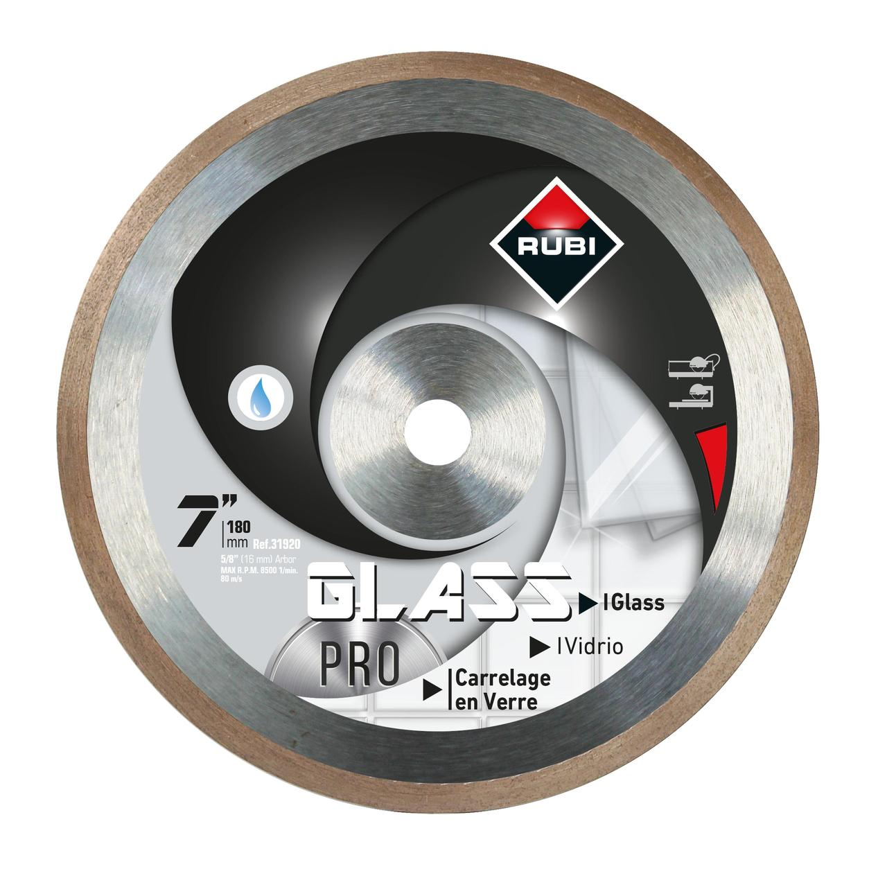 GLASS Diamond blade