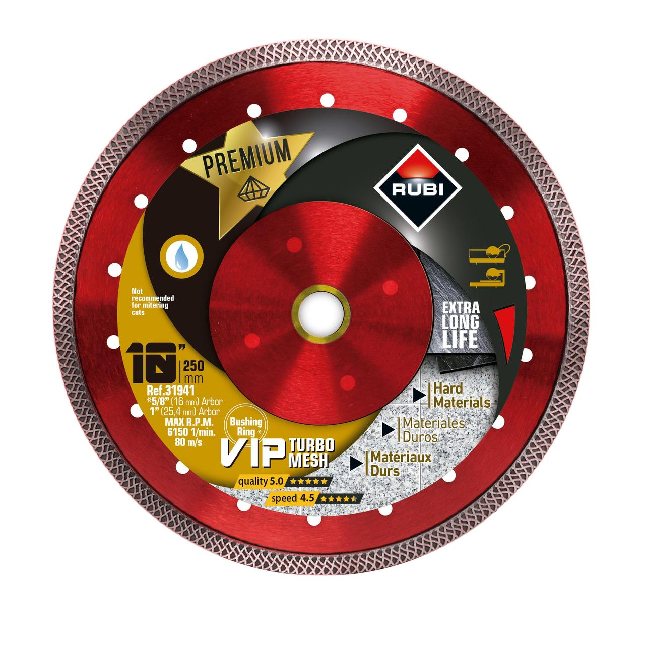 VIPER Diamond Blade for Wet Cutting