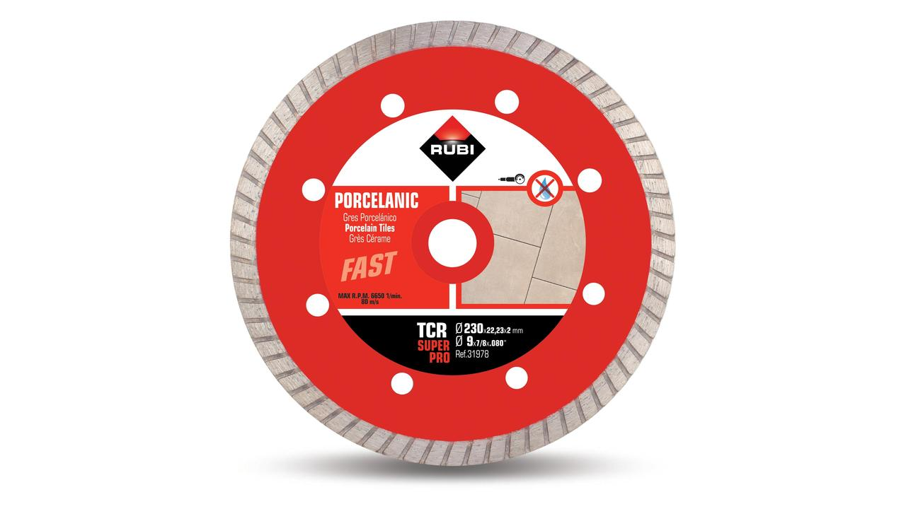 Disc diamant gres porcellànic TURBO - TCR