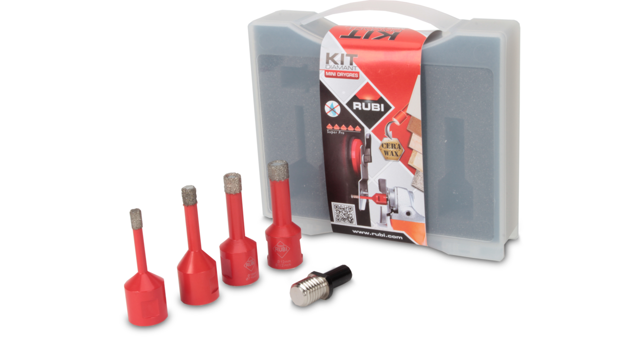 MINI DRYGRES diamond drill bits kit