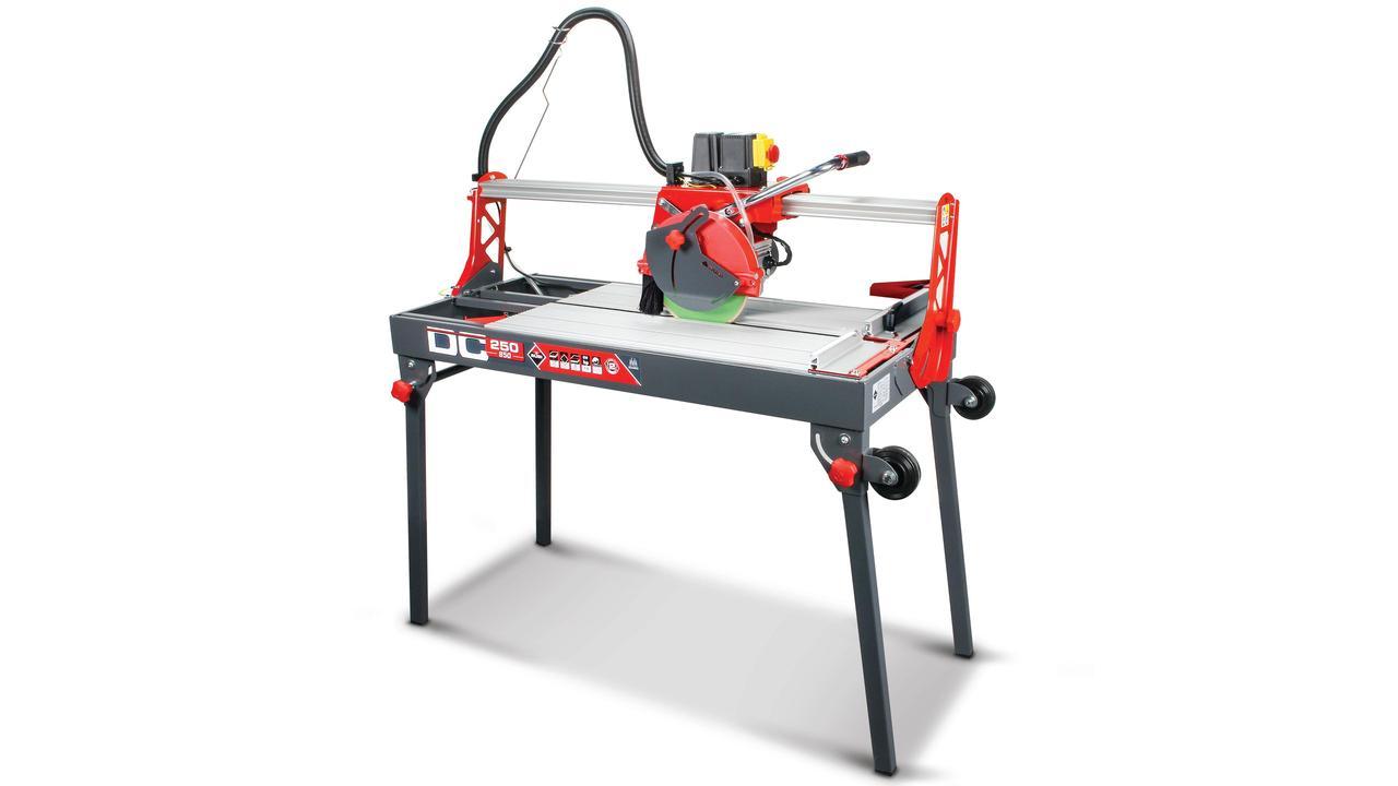 elektrische schneidmaschine dc 250 rubi tools deutschland rubi werkzeuge und fliesenschneider. Black Bedroom Furniture Sets. Home Design Ideas