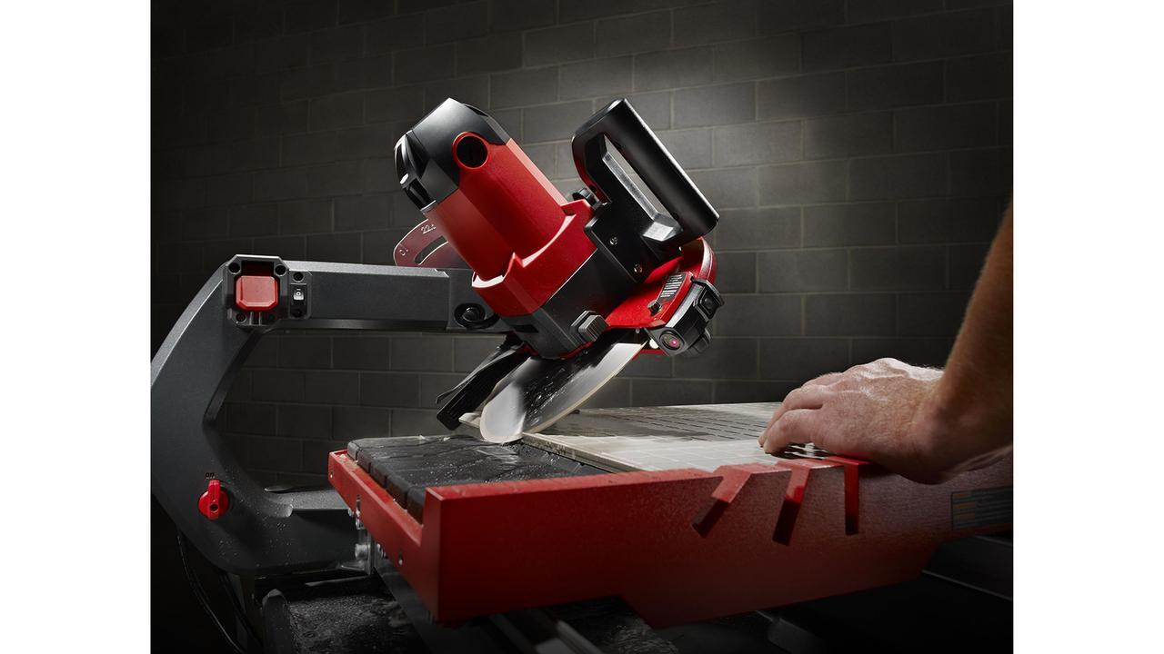 Dt 250 Evolution Wet Tile Saw Rubi Tools Usa