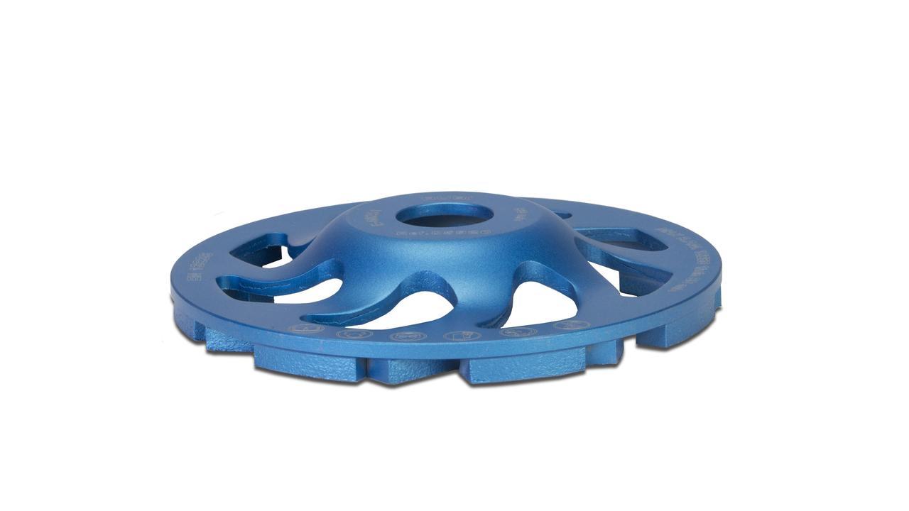 Muela diamante desbaste fan cup para hormig n rubi tools for Hormigon impreso rubi