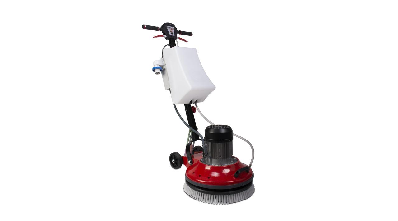 Rotating cleaning machine