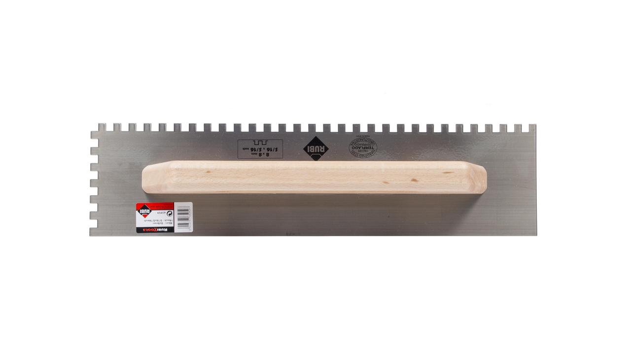 19 in. closed wooden handle