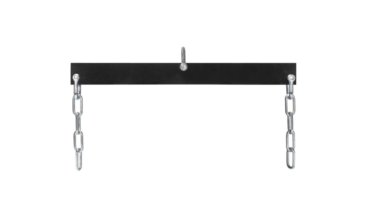 Balance beam column hook