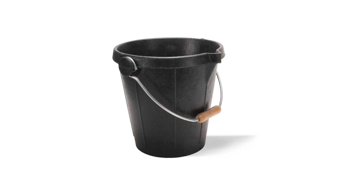 Rubberbuck English Rubber Bucket 3 7 Gal Rubi Tools Usa