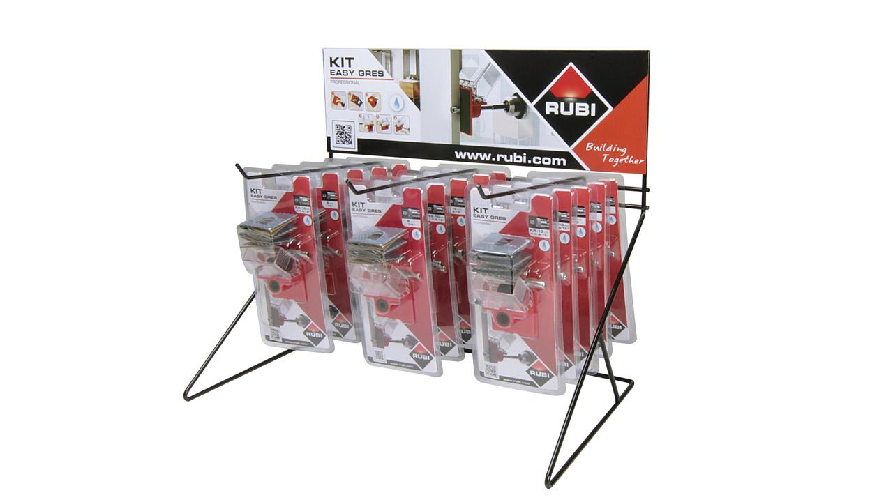 Display for EASYGRES drill bits