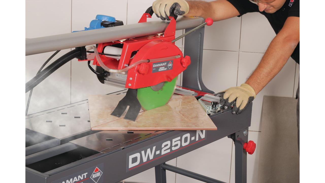 Dw 250 Nl Tile Saw Rubi Tools Usa