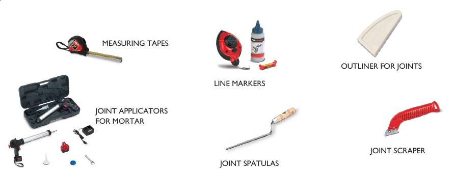 Tools to improve joints finishing